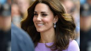 kate middleton is the epitome of perfection in pretty purple dress