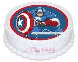 captain america cakes captain america photo cake online cake delivery delhi