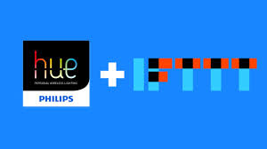 use ifttt and philips hue lightbulbs to set the mood