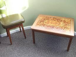 vintage retro danish tiled top teak coffee table in birstall