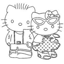 free printable kitty coloring pages 3026