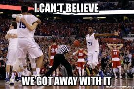 Duke Basketball Memes - 16 best memes of duke referees beating wisconsin in ncaa