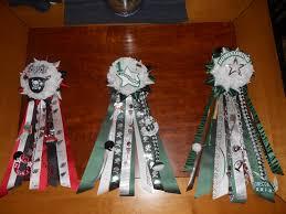 homecoming garter ideas 6 romneys in homecoming