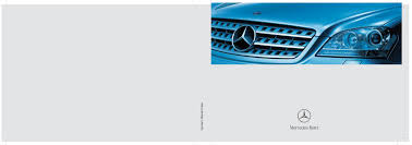 2006 mercedes benz ml350 ml500 owners manual