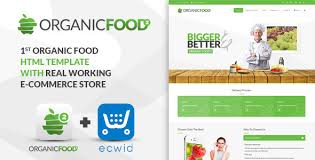 organic food kitchen farm corporate landing page u0026 e commerce