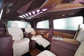 diamond benz mercedes benz v class diamond dark luxury van klassotic premium