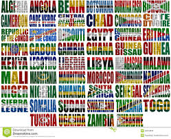 Flag Of The World Africa Countries Flag Words 28813800 Jpg 1300 1054 Flags Of