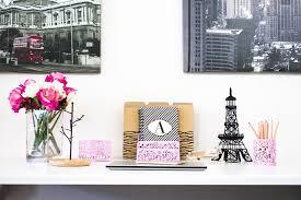 Pink Desk Accessories Set Pink Desk Organizer For 3 Desk Accessories Set