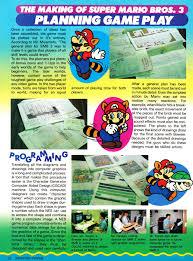 Super Mario Bros 3 Maps The Making Of Smb3 In Nintendo Power Vol 10