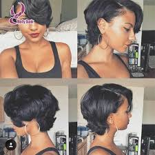 growing out short hair but need a cute style new fashion short haircuts wigs 7a brazilian virgin hair straight