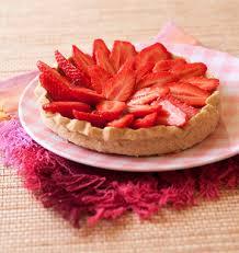 aux fraises cuisine tarte aux fraises et crème pâtissière sans lactose les