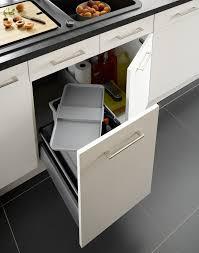 mobalpa accessoires cuisine poubelle de cuisine hygiénique encastrable en plastique mobalpa
