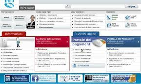 cassetto previdenziale cittadino inps come accedere ai servizi inps soldioggi