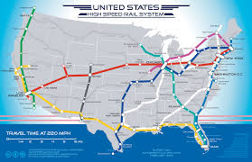A Train Map San Francisco To Las Vegas In 5 Hours By Train A Map For A