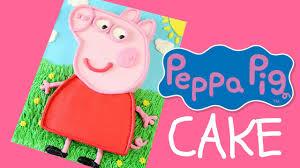peppa pig cake make a peppa pig cake