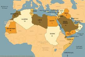 map arab map of the arab world map collection
