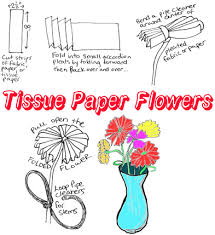 Making Flowers Out Of Tissue Paper For Kids - tissue paper crafts for kids ideas for easy arts u0026 crafts