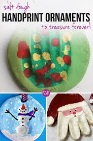 kid s handprint crafts use an easy salt dough recipe to