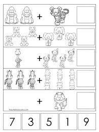 zoo themed math worksheets preschool pre k and kindergarten math
