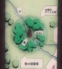 Naruto Map Forty Fourth Training Ground Narutopedia Fandom Powered By Wikia