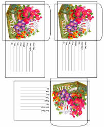 blank seed packets printable box templates at dave s garden there s a strange