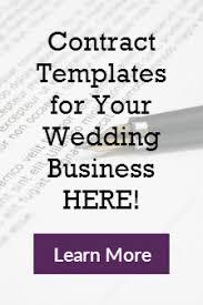 makeup contracts for weddings wedding industry wedding industry