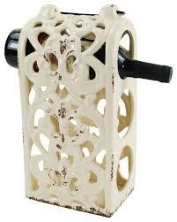 drew derose designs ceramic 3 bottle holder cream view in