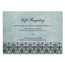 wedding registry gift wedding registry card template free imbusy for