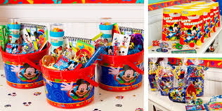 mickey mouse favor bags mickey mouse party favors candy toys stationery more