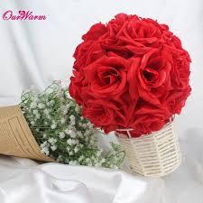 silk ribbon roses online shop 18cm 7in silk ribbon flower artificial