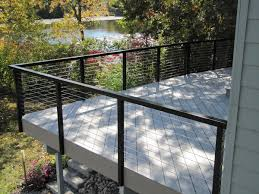 lowes banisters and railings cable deck railing systems at lowes deck railing with stainless