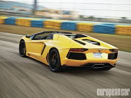 lamborghini aventador roadster yellow 2014 lamborghini aventador lp700 4 roadster european car magazine