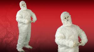 abominable snowman costume abominable snowman costume