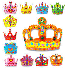 birthday gifts delivered random delivered 3d handmade crown craft gifts kits