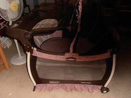 Changing Table For Pack N Play Pink And Brown Graco Pack N Play With Changing Table Designs Rs