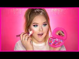 how much is makeup school using only kids makeup challenge nikkietutorials