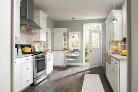 simple white kitchen light floors luxury with cabinets black