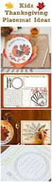 thanksgiving placemat craft for kids the 25 best thanksgiving placemats ideas on pinterest