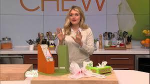 Kitchen Cabinet Abc Tv Kitchen Storage Tips The Chew Youtube