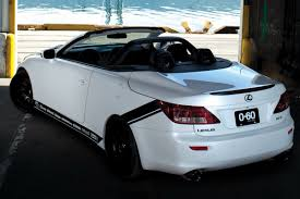 lexus convertible sema show lexus is convertible tuned by 0 60 magazine