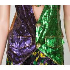 mardi gras vest dress with mardi gras vests ties bowties and more