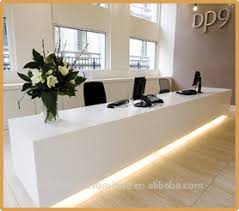 Simple Reception Desk Tw Simple Design Custom Made Artificial Marble Fancy Hotel