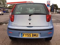 2006 55 fiat punto 1 2 active 3 dr hatchback low mileage 12