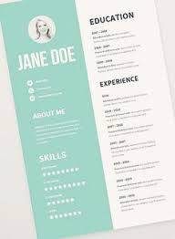 simple creative resumes clean simple awesome resume design by maybelle briones via