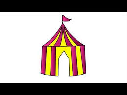 198 how to draw circus for kids step by step drawing youtube