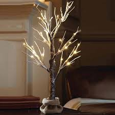 apothecary 2 foot snow pre lit tree jcpenney