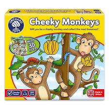 orchard toys cheeky monkeys game amazon co uk toys u0026 games