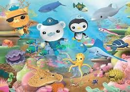 octonauts cake toppers octonauts 1 4 or 1 2 sheet birthday cake topper frosting edible