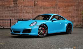 miami blue porsche boxster 2017 porsche 911 991 2 c4s coupe weissach