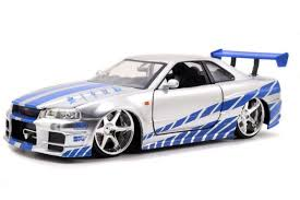 nissan skyline drawing jada toys fast and furious 1 24 scale diecast car 2002 nissan